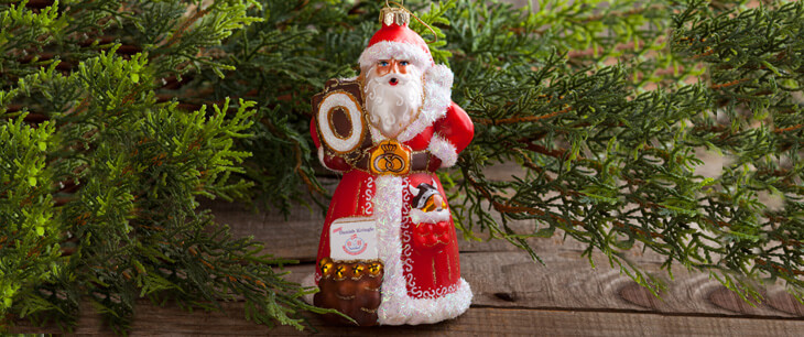 Danish Santa Ornament