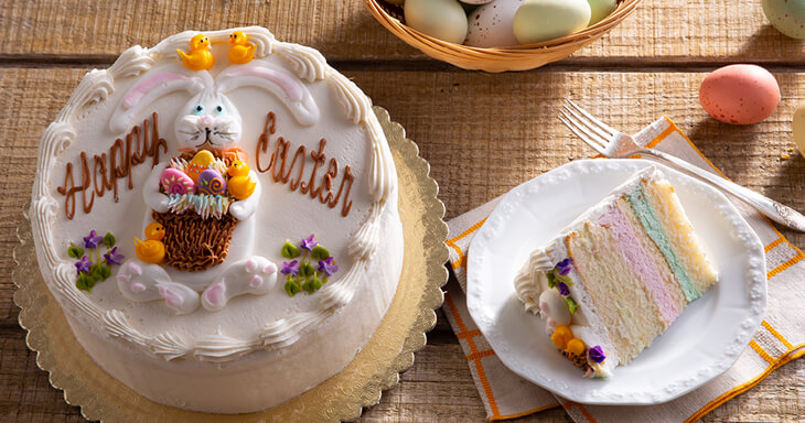 Item #: 467 - Easter Layer Cake