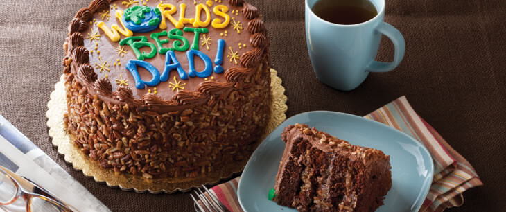 Father's Day Layer Cake