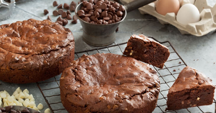 Item #: GFB1 - Gluten-Free Triple Chocolate Brownie