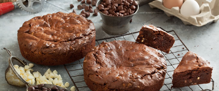 Gluten-Free Triple Chocolate Brownies