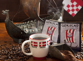 2 Gokstad Premium Coffee Packets