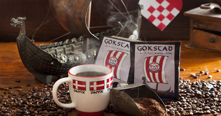 Item #: S029 - 2 Gokstad Premium Coffee Packets