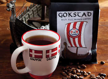 Gokstad Premium Whole Bean Coffee