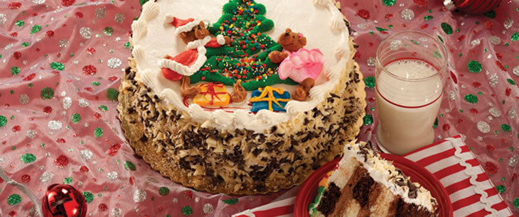 Holiday Confusion Cake