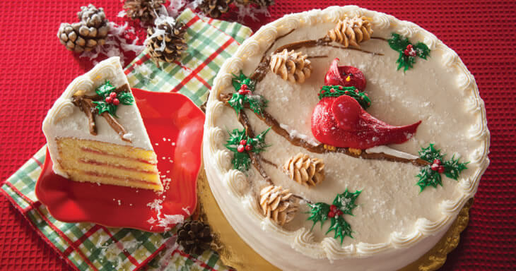 Item #: 472D - Holiday Danish Layer Cake