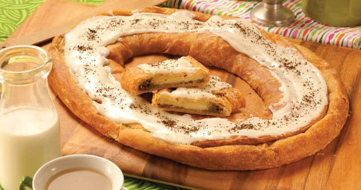 Item #: S103 - Irish Cream Kringle