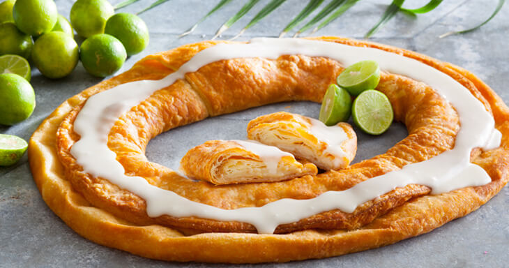 Item #: 135 - Key Lime Kringle