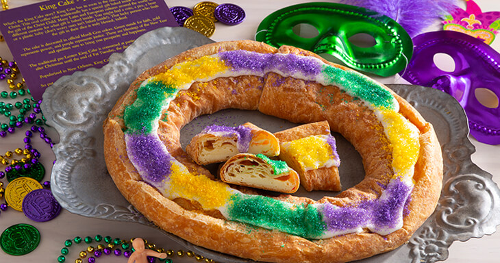 Item #: 200 - King Cake Kringle