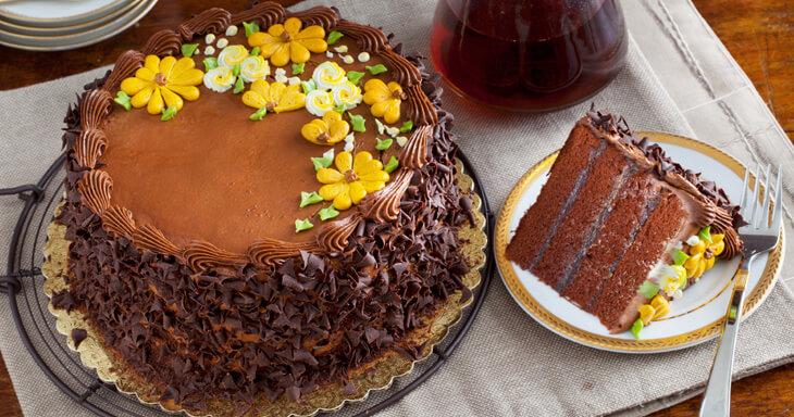 Kings Chocolate Layer Cake