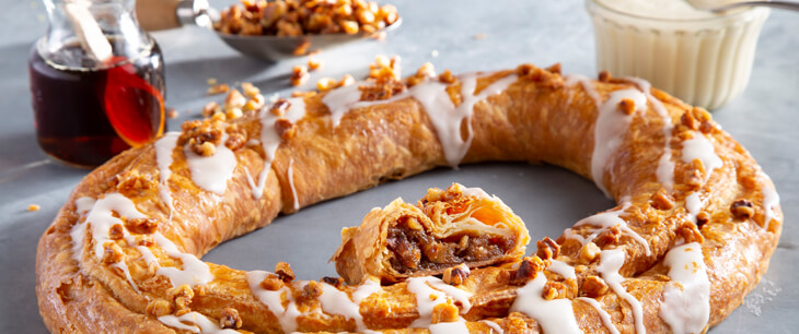 Maple Walnut Kringle