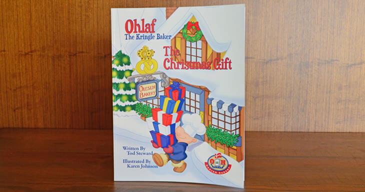Item #: BK02 - Ohlaf The Christmas Gift