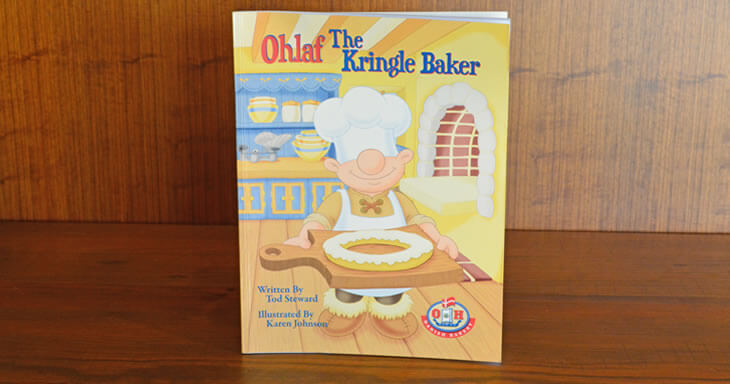Item #: BK01 - Ohlaf the Kringle Baker