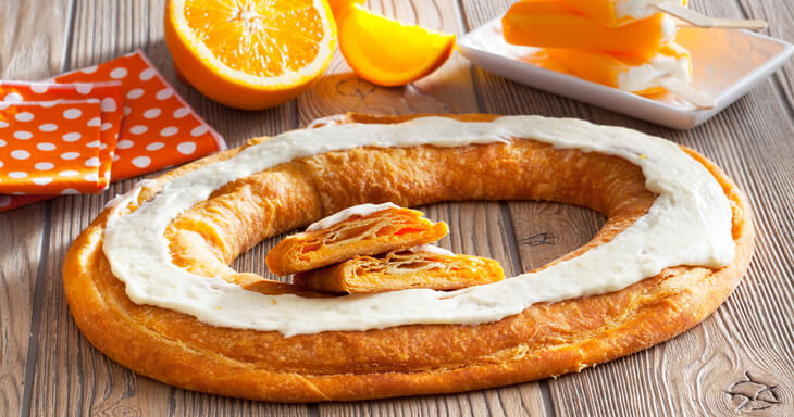 Item #: S101 - Orange Dreamsicle Kringle