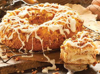Pecan Cheese Coffee Cake
