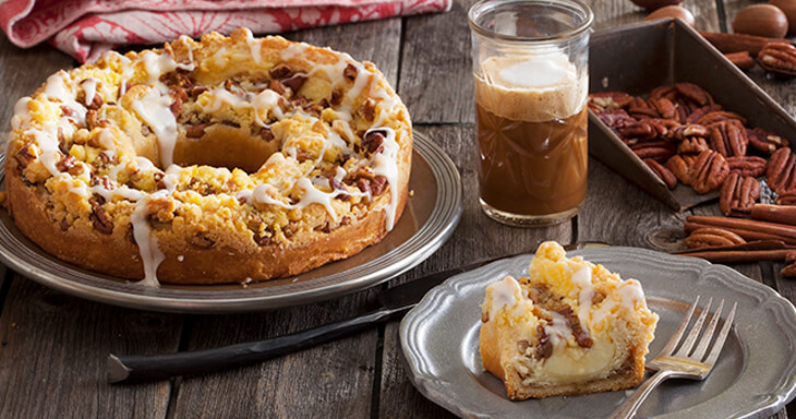 Item #: S085 - Pecan Custard Coffee Cake