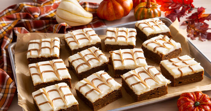 Item #: 447 - Pumpkin Brownies