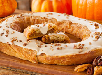 Pumpkin Caramel Kringle (S001)