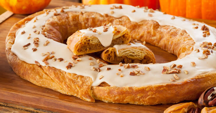 Item #: S001 - Pumpkin Caramel Kringle