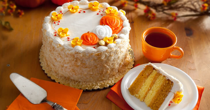 Item #: 434F - Pumpkin Layer Cake
