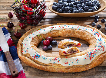 Red, White, and Blue Kringle