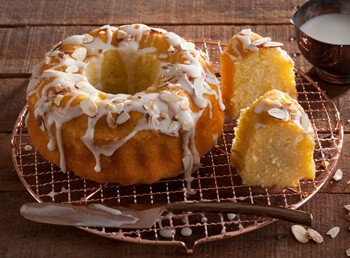Scandinavian Almond Crown Cake
