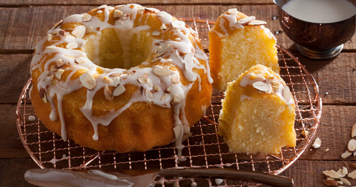 Item #: 319 - Scandinavian Almond Crown Cake