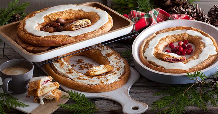Kringles For Christmas.Scandinavian Christmas Kringle