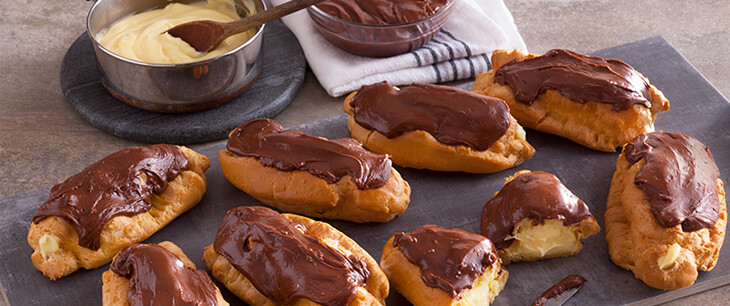 Sinful Chocolate Eclairs