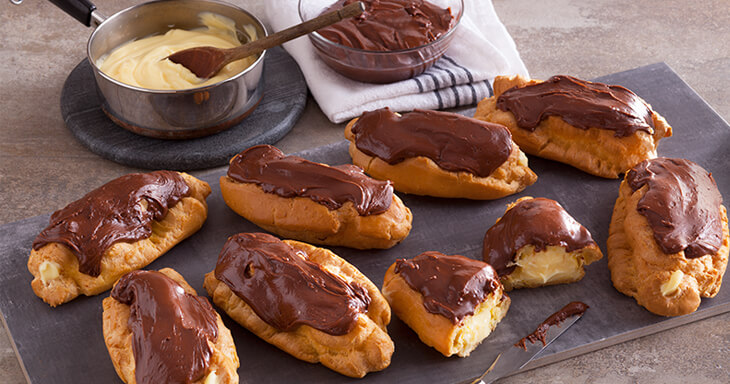 Item #: 465 - Sinful Chocolate Eclairs