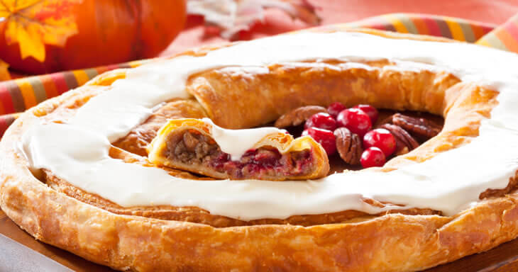 "Item #: S112 - Thanksgiving ""Stuffed"" Kringle"