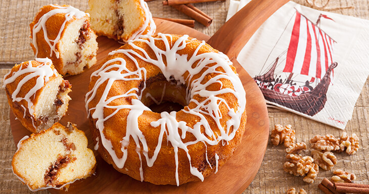 Item #: 317 - The Danish Crown Cake