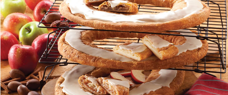 32 Count Assorted Kringle Carton