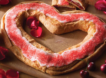 Valentine Cherry Kringle
