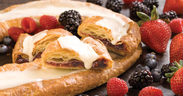 Item #: S009 - Viking Very Berry Kringle