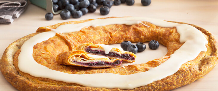 Wild Blueberry Kringle