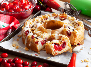 Wisconsin Christmas Coffee Cake