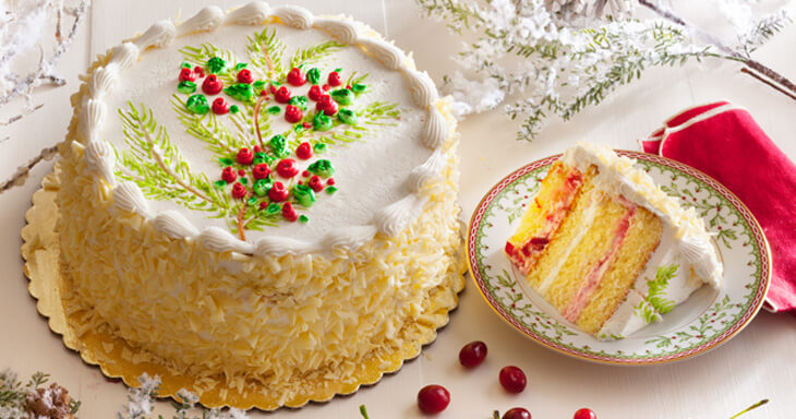 Item #: 495C - Wisconsin Christmas Layer Cake